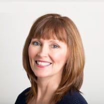 headshot of Kim Scaraville, Trust Communications